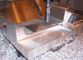 NC machining and milling
